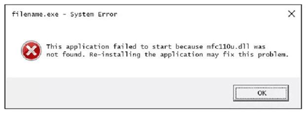 Cara Memperbaiki Masalah untuk File Mfc110u.dll pada Windows