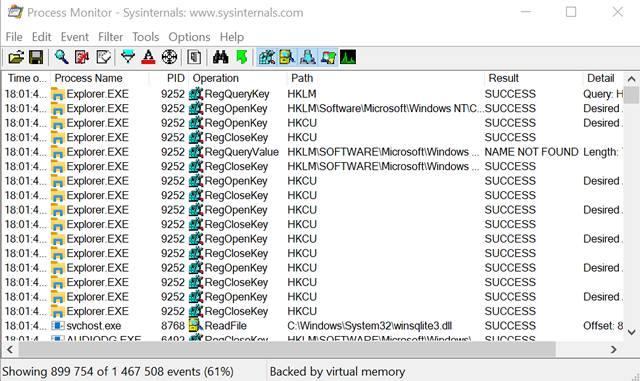 Отслеживание файловой активности в Windows 10