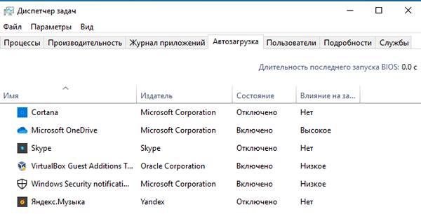 Список приложений, загружаемых вместе с Windows 10