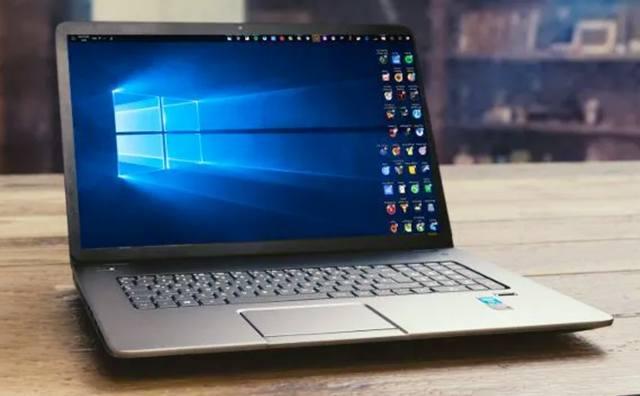 Перевёрнутый экран на ноутбуке с Windows 10