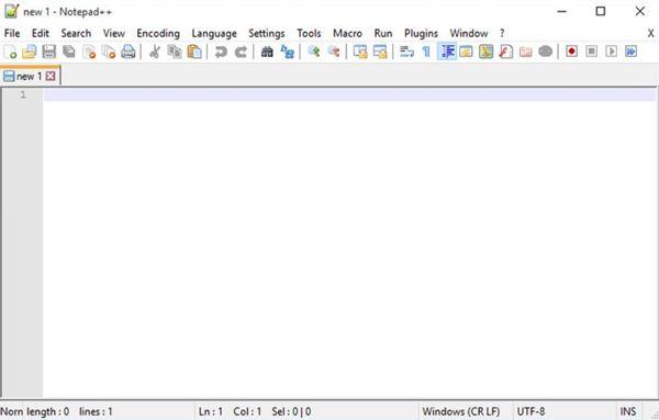 Инструмент Notepad для замены стандартного блокнота
