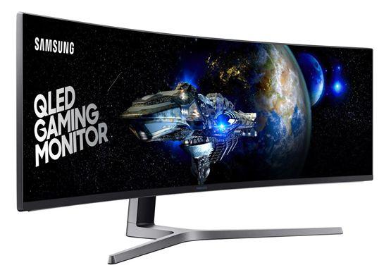 Сверхширокий монитор для игр Samsung CHG90 QLED