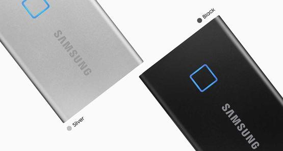 Samsung T7 Touch – превосходно защищенный внешний SSD