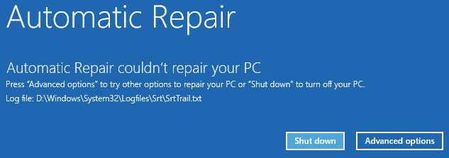 Попытка Windows автоматически восстановить удаленные файлы