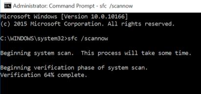 Проверка состояния системных файлов в Windows