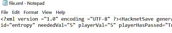 Отображение XML-файла в стандартном блокноте Windows