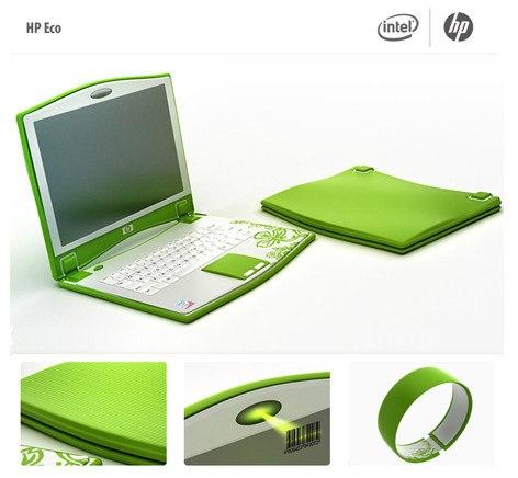 Ноутбук для девушки: HP Eco Ноутбук