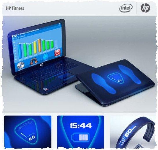 Ноутбук для девушки: HP Fitness