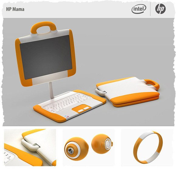 Ноутбук для девушки: HP Mama