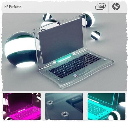 Ноутбук для девушки: HP Perfume