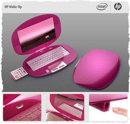 Ноутбук для девушки: HP Make-up