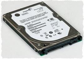 Стандартный жесткий диск компьютера для хранения информации