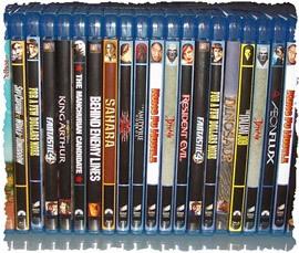 Коллекция DVD с фильмами, требующая добавления субтитров