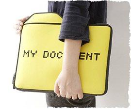 Перенос папки «Мои документы» подмышкой