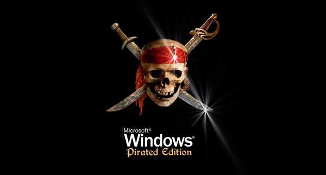 Логотип «пиратской» версии операционной системы Windows