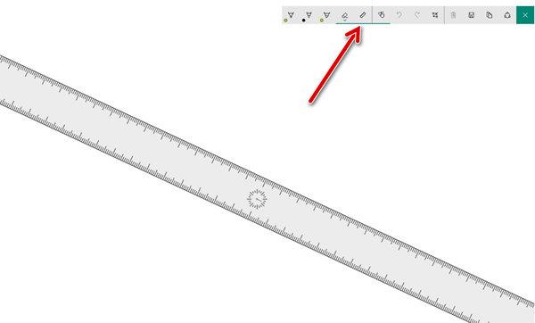 Использование линейки в Sketch Pad