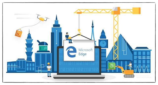 Компания Microsoft занята перестройкой браузера Edge