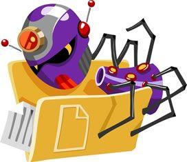 Компьютерный вирус проверяет содержимое папки с документами