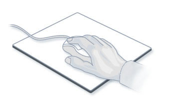 Учитесь держать комьпютерную мышь расслабленно, без напряжения запястья
