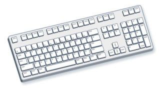 Классическая клавиатура персонального компьютера