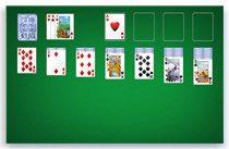 Карточная игра «Косынка» в системе Windows