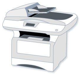 Образец многофункционального принтера
