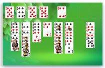 Карточная игра «Солитер» в системе Windows