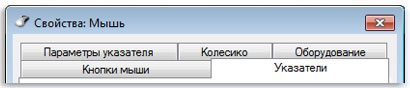 Вкладки Windows