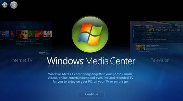 Использование Windows Media Center для просмотра телепрограмм