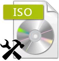 Стандартная иконка файла iso-образа