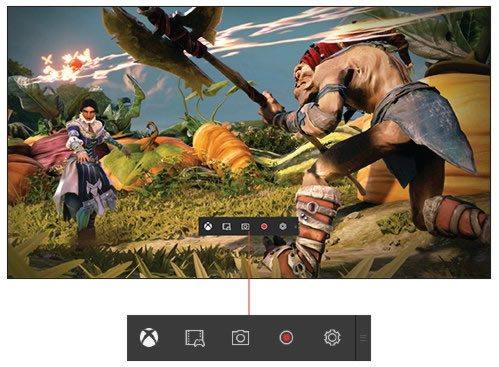 Запись игрового процесса с консоли Xbox через Windows 10