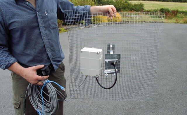 Антенна усилитель сигнала беспроводной сети