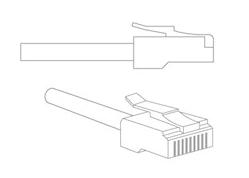 Вид сетевого кабеля (Ethernet)
