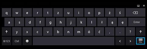 Кнопка быстрого выбора языка на клавиатуре